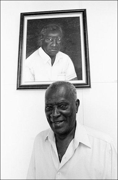 Aristides dos Santos, o líder negro.
