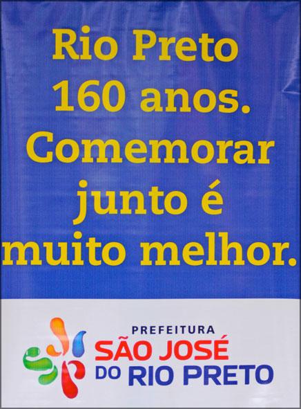 São José do Rio Preto, 160 anos e uma doce festa.
