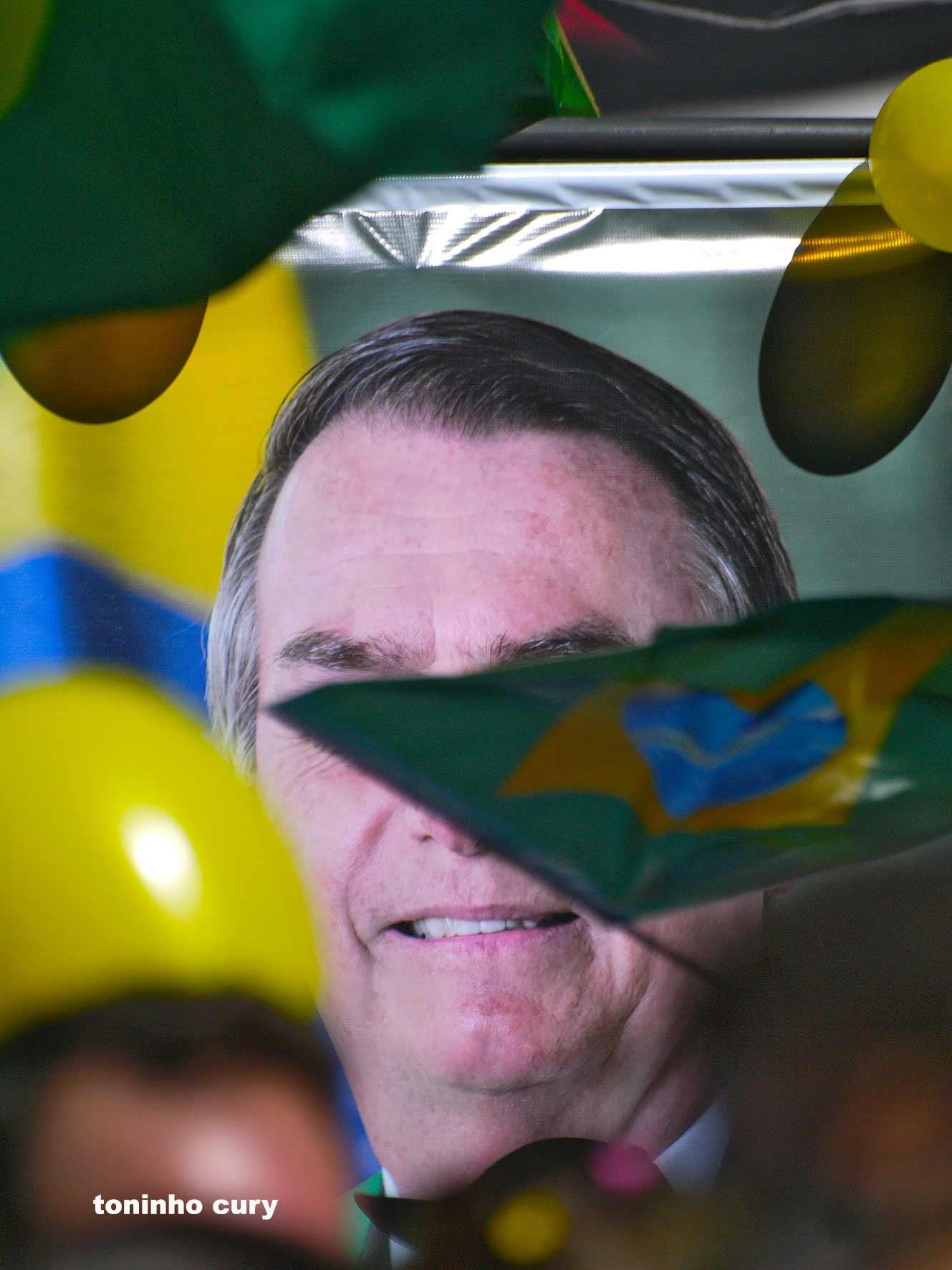 Ato de apoio a Jair Bolsonaro