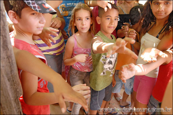 A festa de São Cosme e Damião em Ubarana