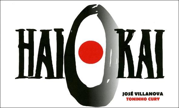 Capa do Haikai com textos de José Villanova e fotos de Toninho Cury.