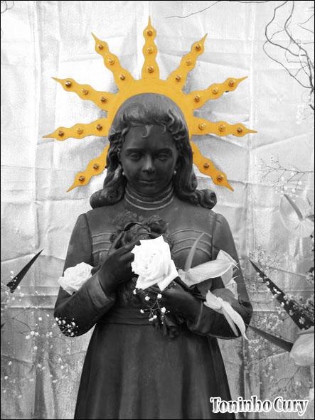 Izildinha, o anjo do Senhor. (Foto: Toninho Cury)