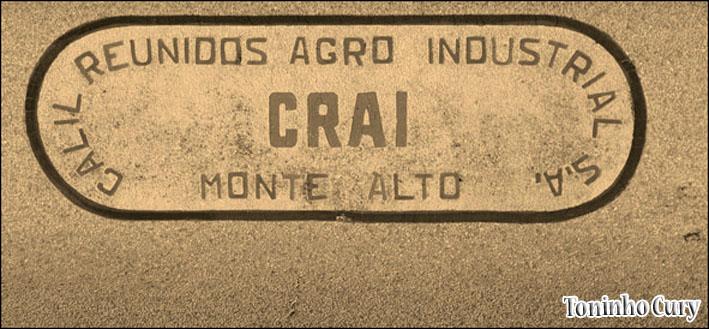 Após a venda da indústria por Castro Ribeiro, um dos compradores, Calil Industrial, utilizou as mesmas iniciais. (Foto: Toninho Cury)