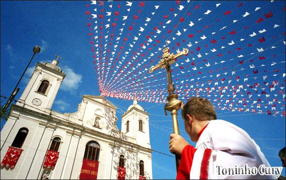 Igreja São Luiz de Tolosa. São Luiz do Paraitinga/SP. (Foto: Toninho Cury)