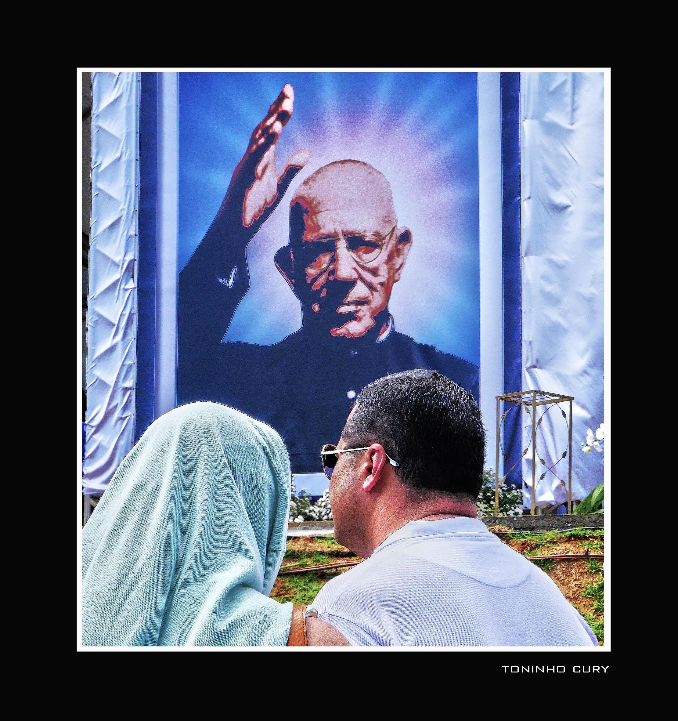O santo de Tambaú. (Foto: Toninho Cury)