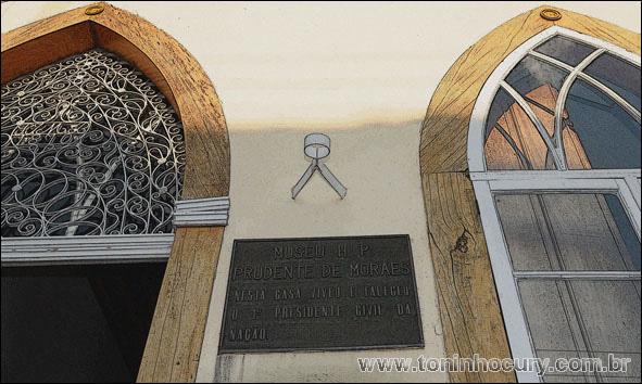 Museu histórico e pedagógico Prudente de Moraes. Piracicaba/SP. (Foto: Toninho Cury)