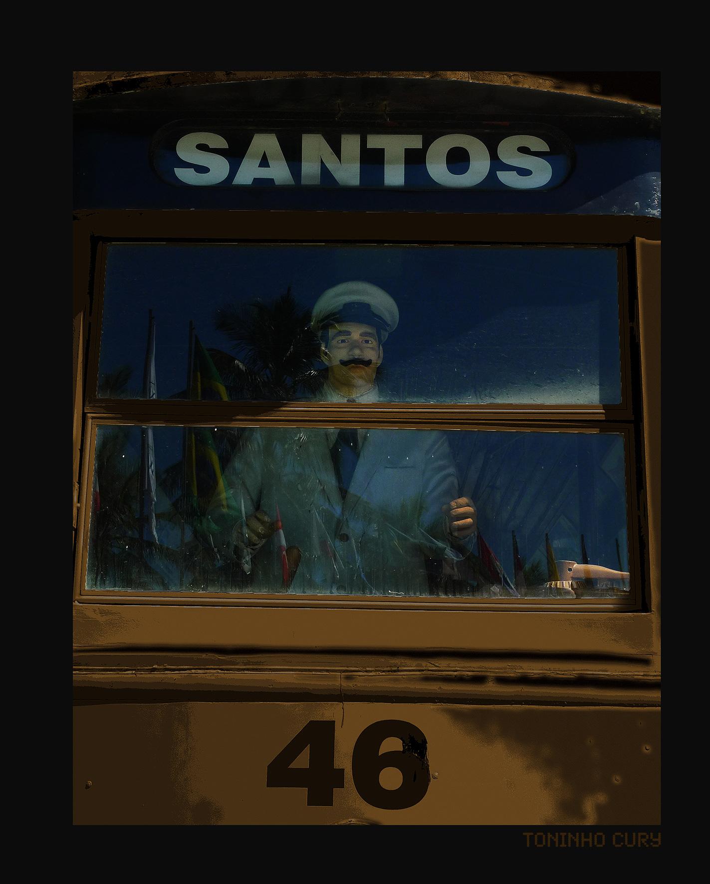 Nas curvas de Santos